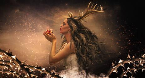 Wild Woman by MilosCreativeArt