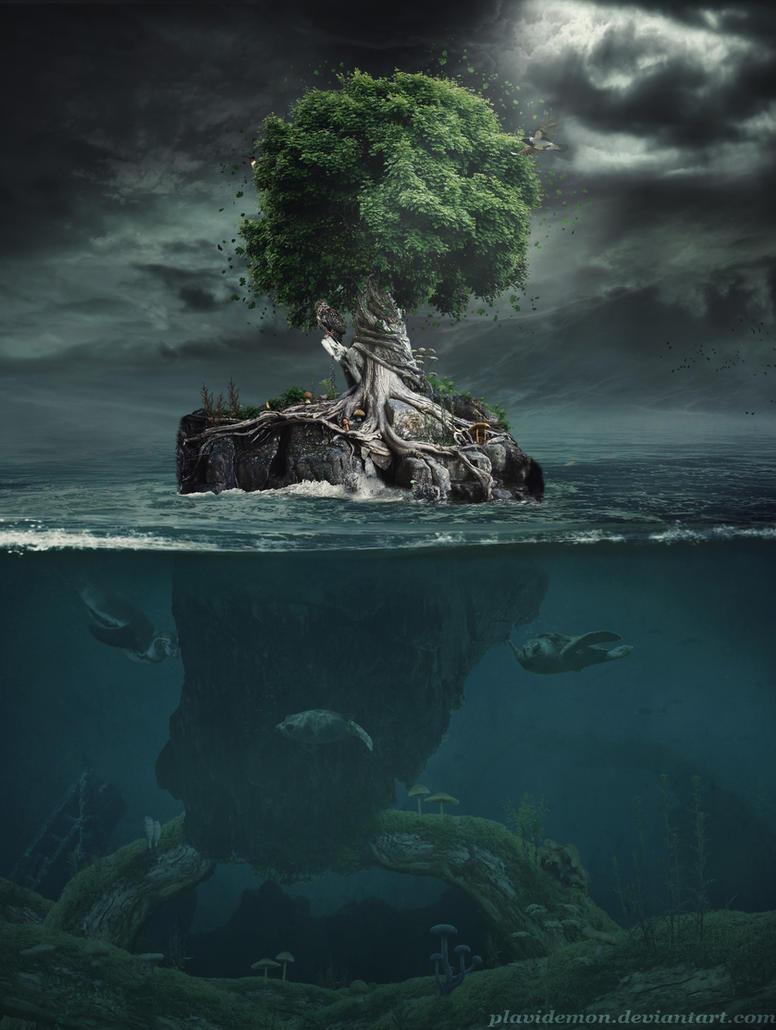 Magic Tree by PlaviDemon
