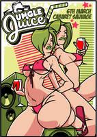 Jungle Juice Flyer 002 by I-Like-It-Juicy
