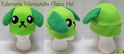 Edamame Mameshiba Hat by WhiteOblivion