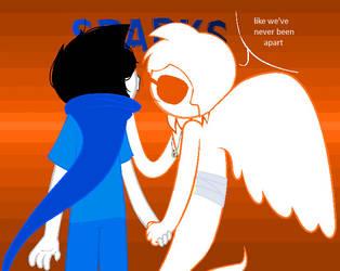 SPARKS [John and Davesprite] by envyjessica