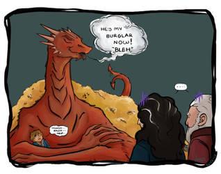 Bilbo and the Dragon