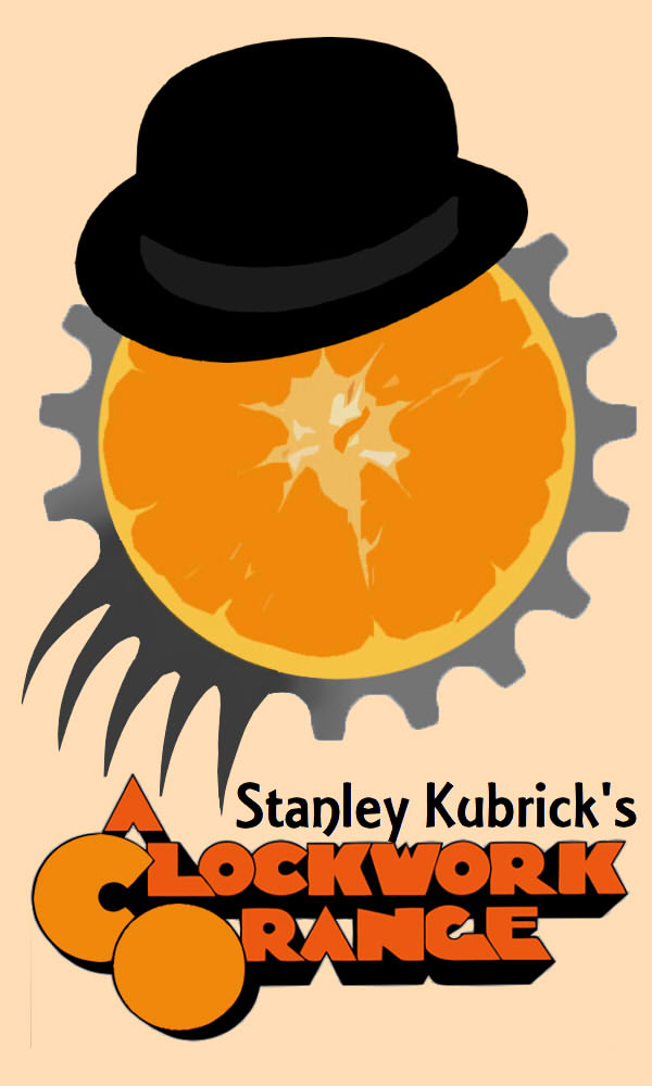 A Clockwork Orange Minimalist Poster by Nicksplosivez on ... A Clockwork Orange Minimalist Poster