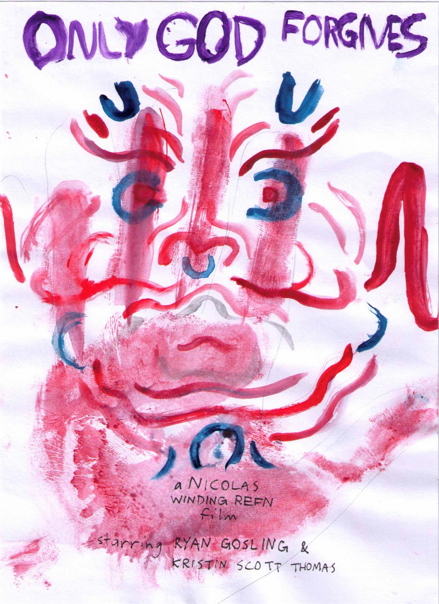 Only God Forgives Neon Poster Refn/Gosling Art Poste...