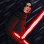 Kylo Ren by Nicksplosivez