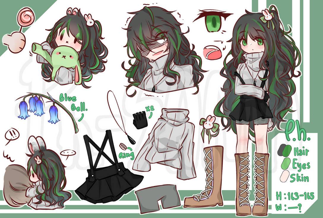 [CharacterSheet] Mascot : P.h.-SAMA the Rabbit.