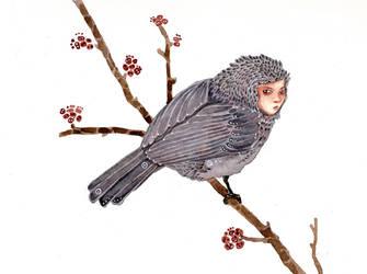 Taiko Chickadee by bluealaris