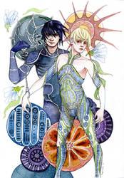 Bionic Starfighters by bluealaris