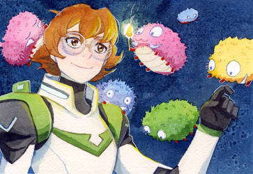 Pidge and the Caterpillars