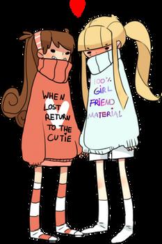 sweater girlfriends