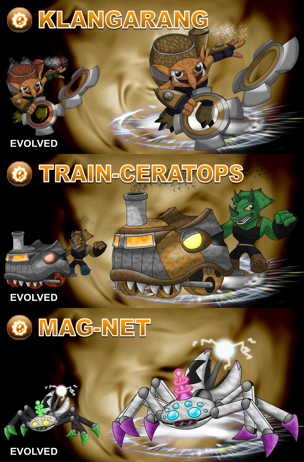 Skylander OCs: Villains - Tech By Proceleon On DeviantArt