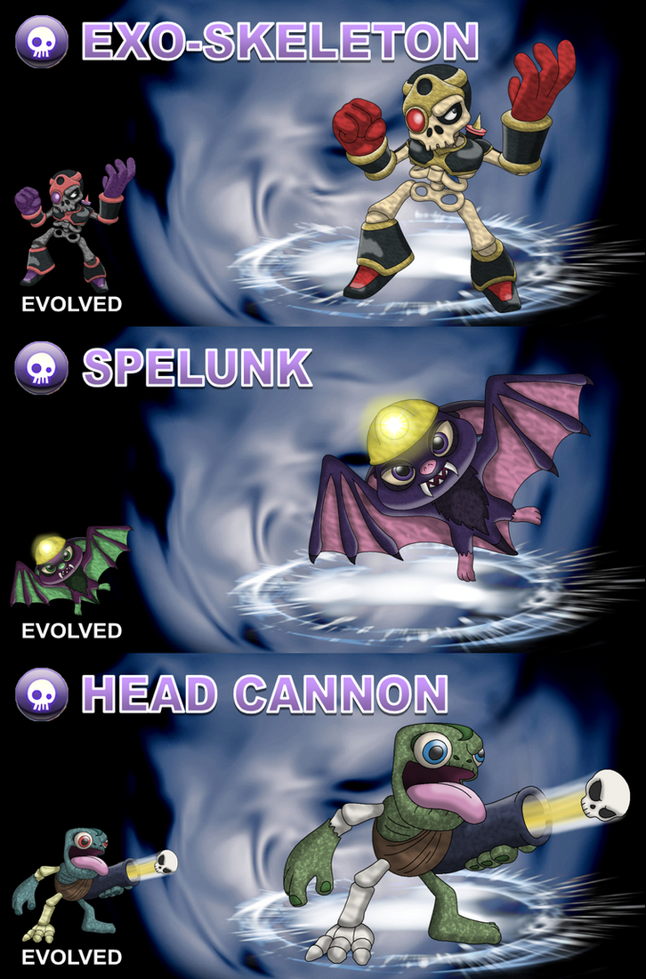 Skylander OCs: Villains - Undead By Proceleon On DeviantArt