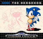 Sonic 1 EU Cartridge Label Recreation