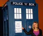 Rose Tyler and the TARDIS