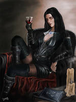 Yennefer by Lannarty