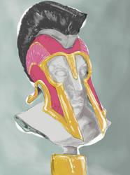 A helmet warrior by whoareyouintheballad