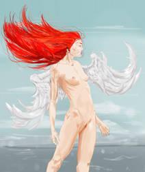 Angel on fire by whoareyouintheballad