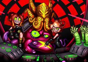 DJ Octavio and Octo Sisters by Eigaka