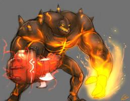 Darkspore: Zrin the Sun Fist