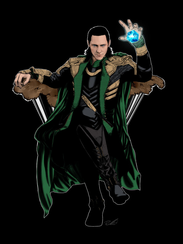 Loki tshirt available again! by RED-Elice