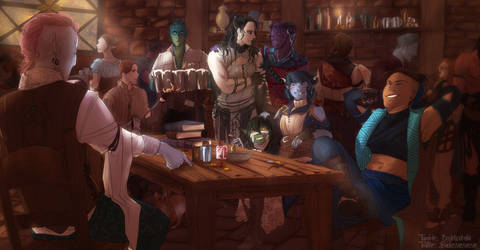 Tavern's rest by redelice
