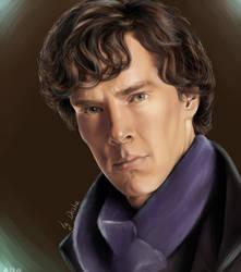 Sherlock by UstyzhaninaART