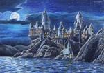Hogwarts by UstyzhaninaART
