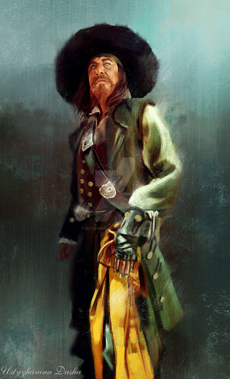 Hector Barbossa On The Black Pearl Deviantart