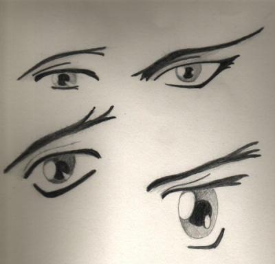 anime eyes by ralamantis