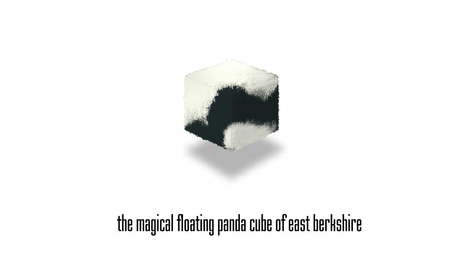 panda cube by ralamantis