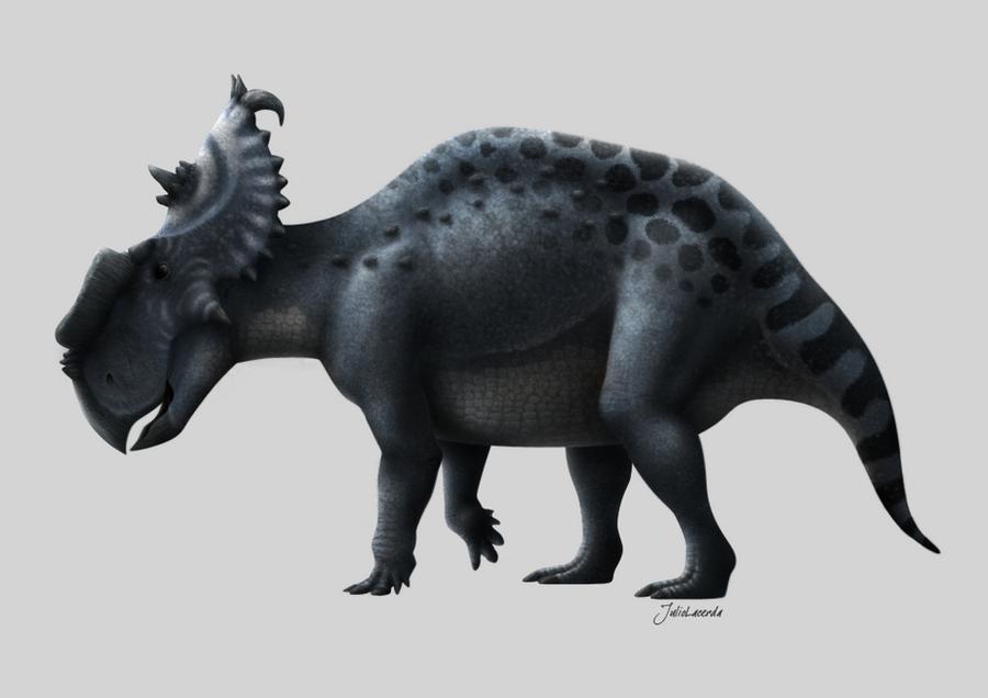 Pachyrhinosaurus lakustai by Julio-Lacerda