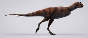 Carnotaurus sastrei by Julio-Lacerda