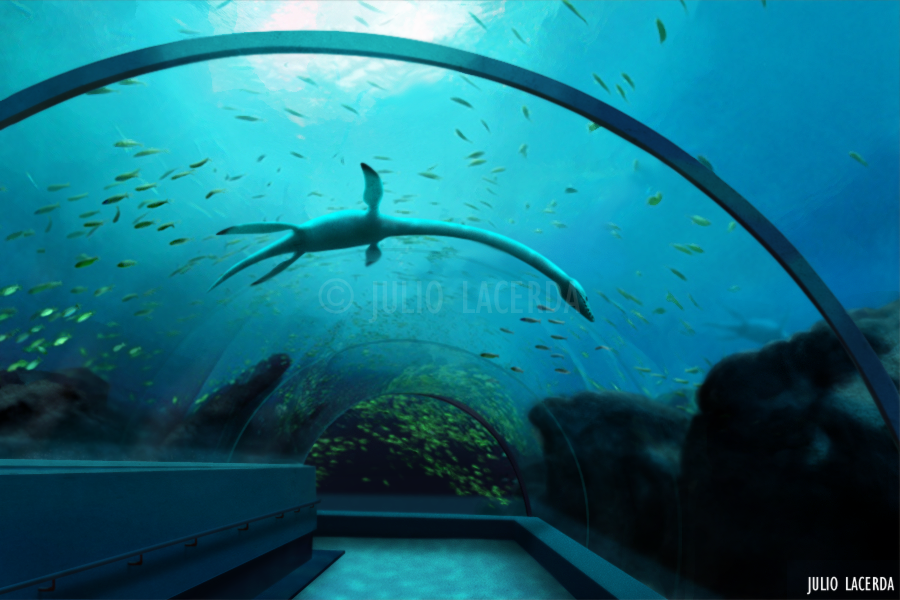The Aquarium #2 by Julio-Lacerda
