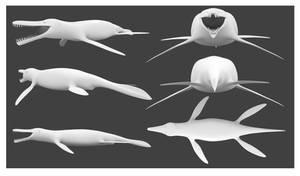 Kronosaurus Model