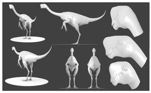 Citipati Model by Julio-Lacerda