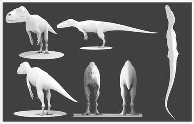 Torvosaurus Model