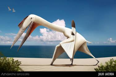 The Beach Wanderer (Remake) by Julio-Lacerda