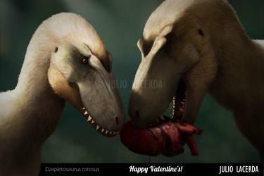 Be My Valentine by Julio-Lacerda