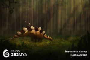 Stegosaurus stenops for Studio 252MYA