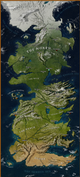Map of Westeros by Julio-Lacerda