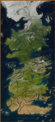Map of Westeros