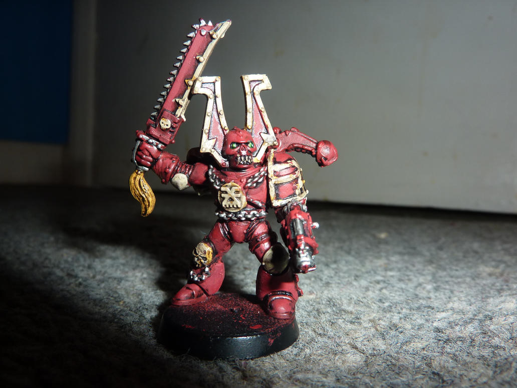 Khorne berserker by whp268 on DeviantArt