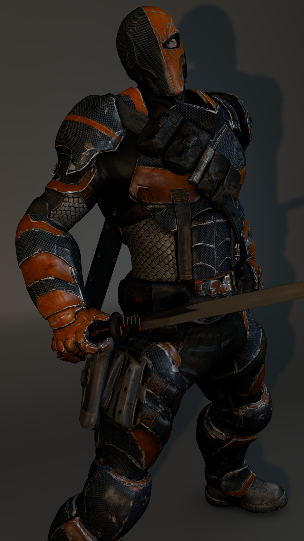 Slade wilson by zeushk on deviantart for Deathstroke armor template