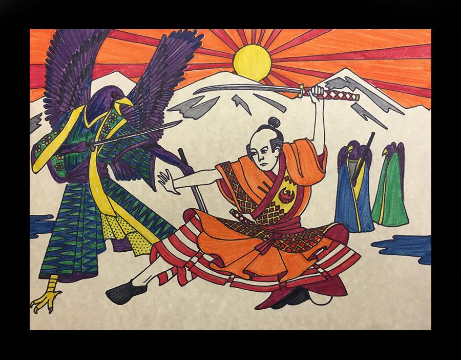 Ukiyo-e Dojo by marcryser
