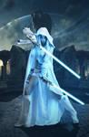 White Jedi 2crop by ilkerureten