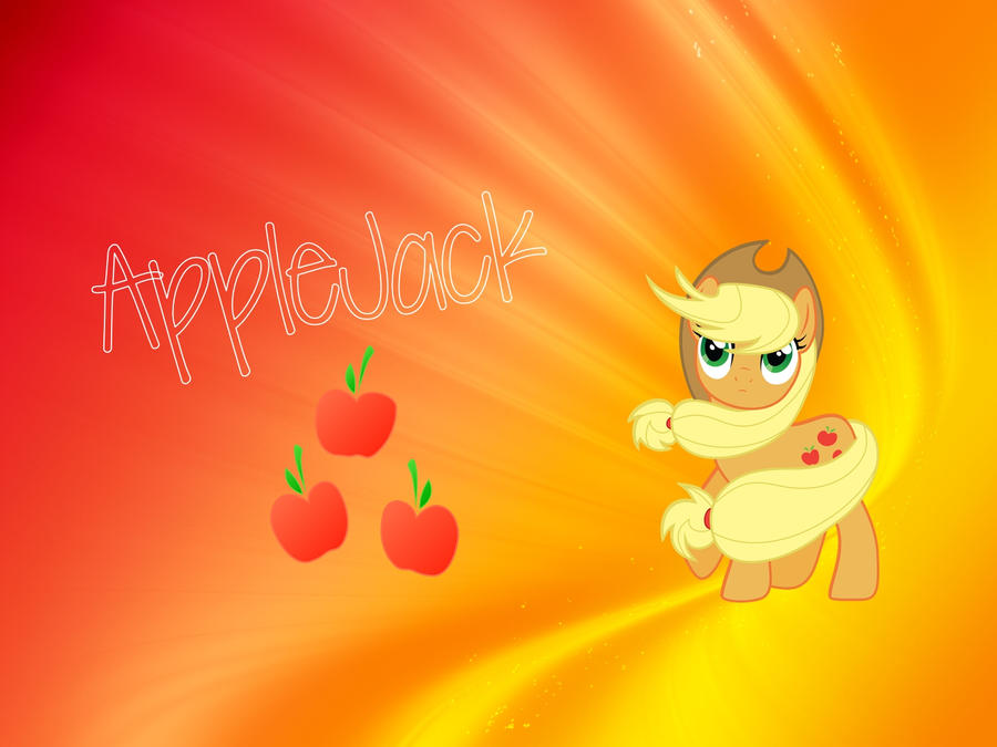 Applejack wallpaper! by Fluttershy625