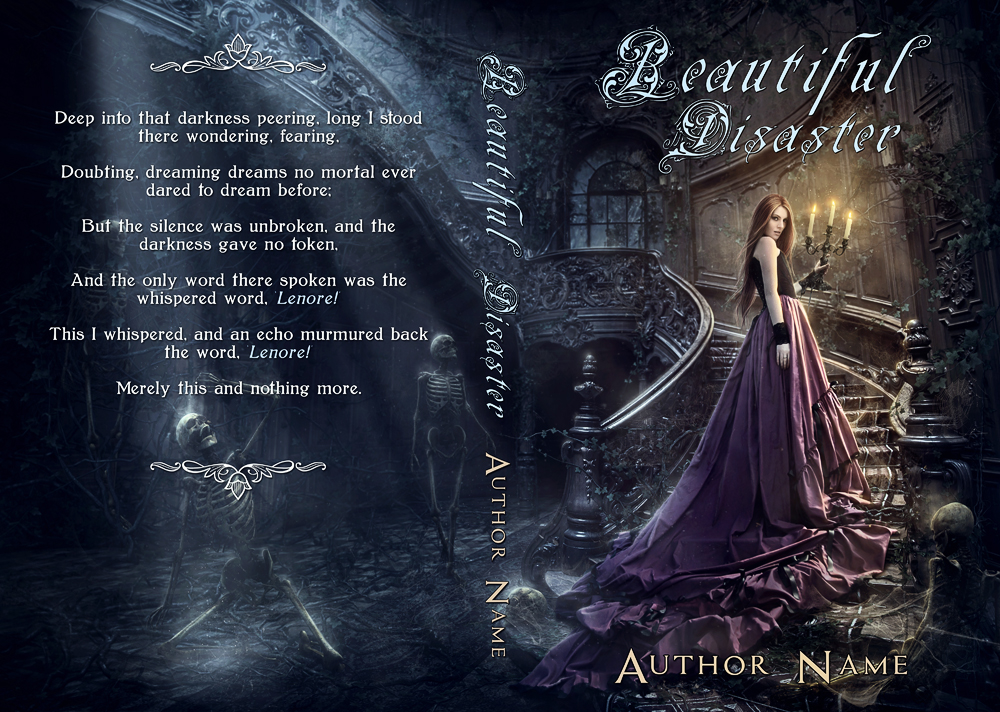 Beautiful Disaster Book Cover : Beautiful disaster premade book cover by mihaela v on