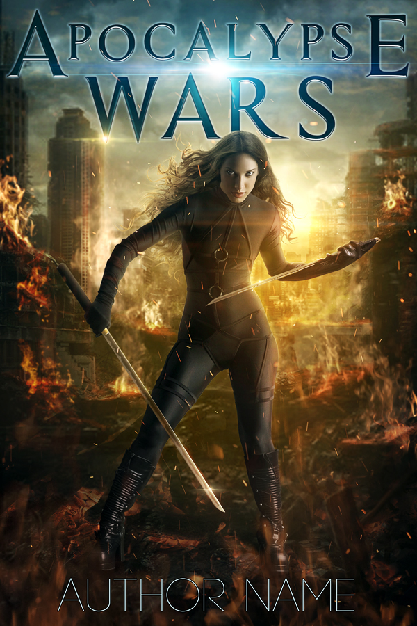 Premade Book Cover Art : Apocalypse wars premade book cover by mihaela v on