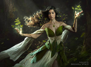 The Lady of the Trees by Mihaela-V
