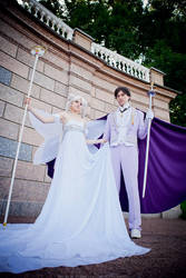 King Endymion and Queen Serenity